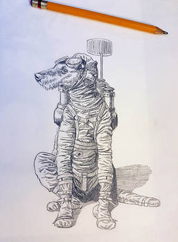 Astro-Dog from Spaceship Zero