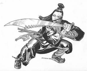 Dragon Fist Fighter 9 Ring Broadsword