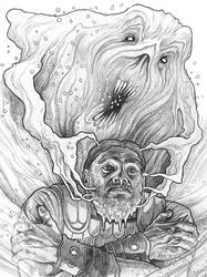 Original pencil drawing for sale: Icy Belker