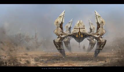 Desert Patrol by HeliacWolf