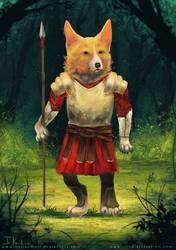 Warrior by HeliacWolf