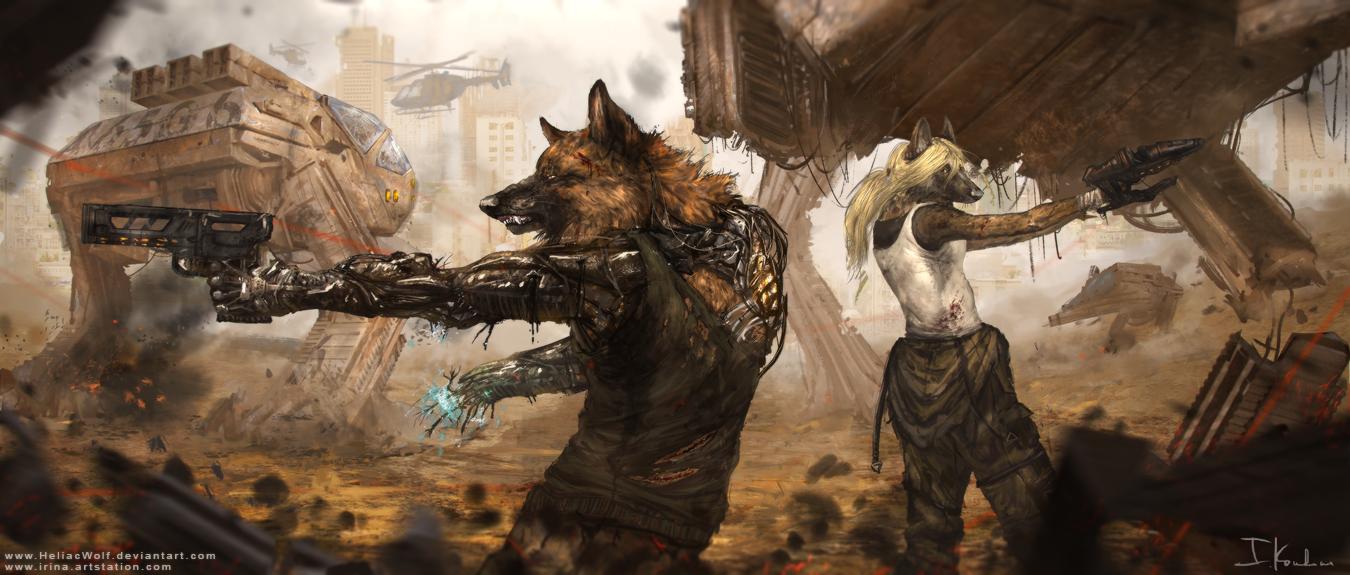 Ambush by HeliacWolf