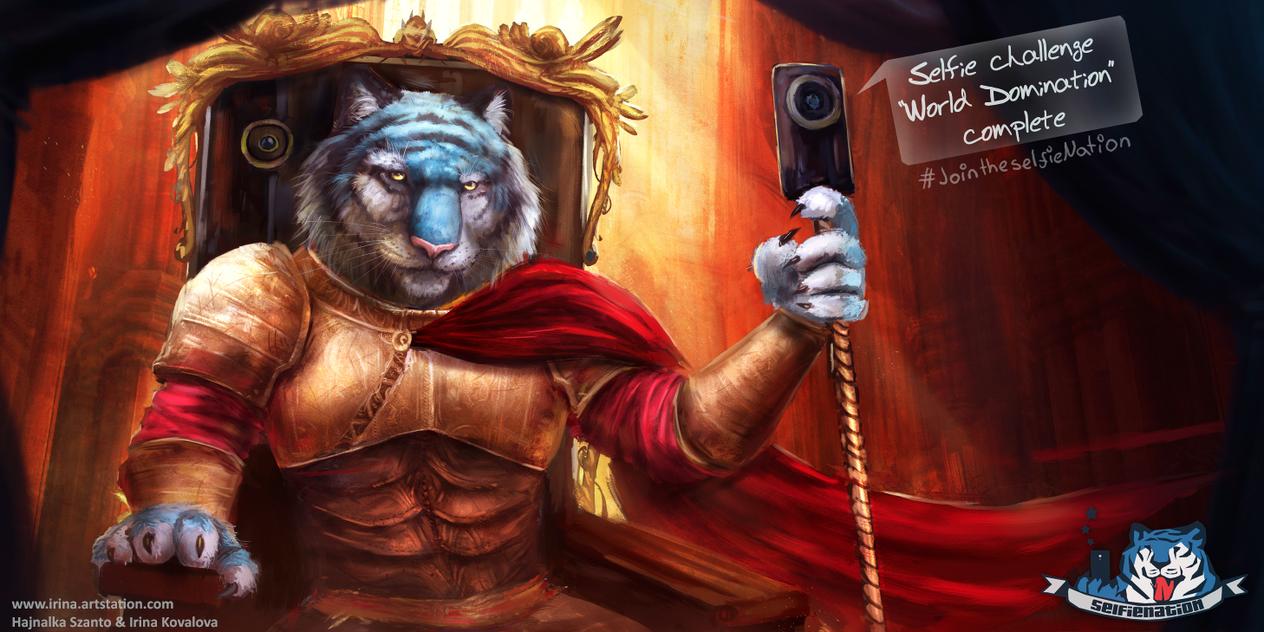 Selfie King by HeliacWolf