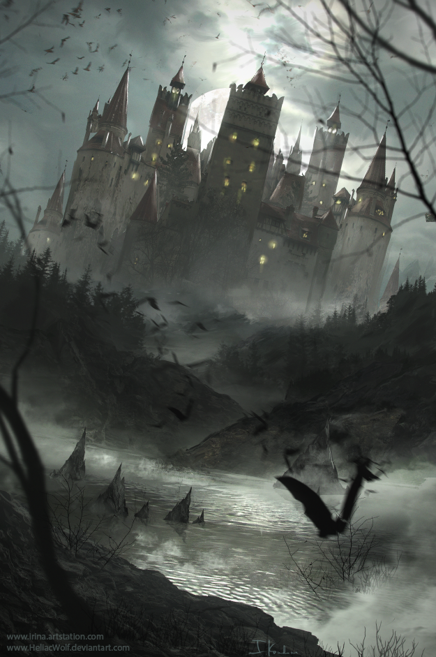 Dark Castle by HeliacWolf