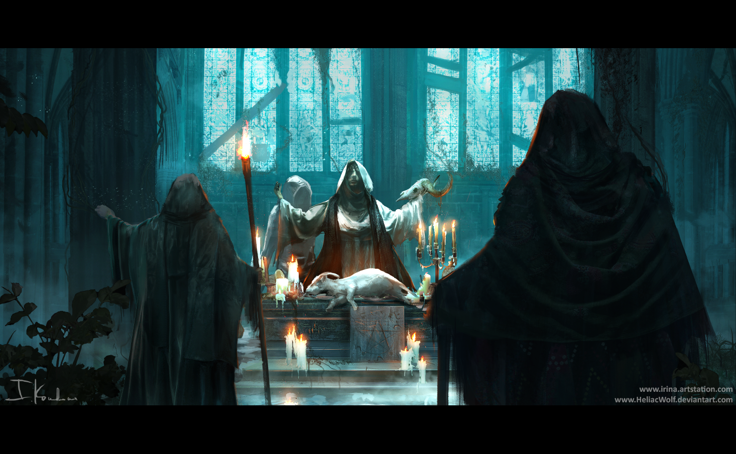 The Gathering by HeliacWolf