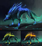Wolf enemy concepts