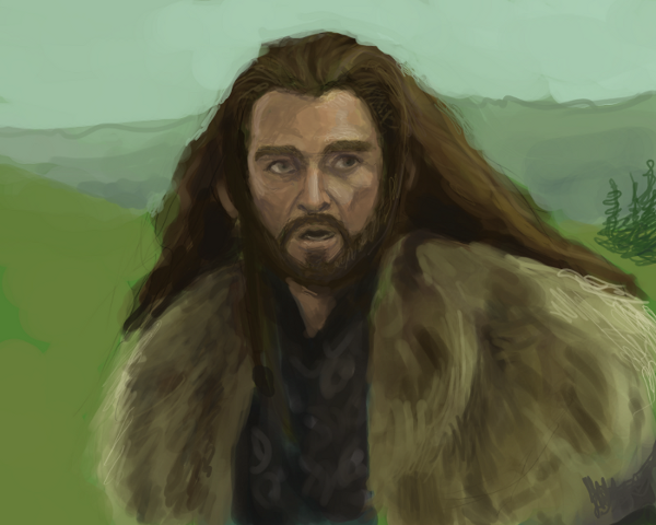 Thorin by Phinnimonster