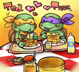 Tea time by chikuwaaaaa