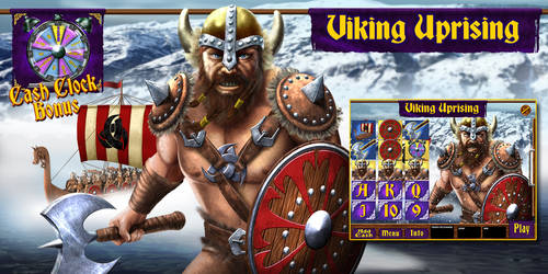 Viking themed Electronic pull tab game by ArtistikAssistance