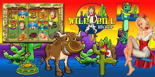 Cartoon Cowboy themed Slot machine Game by ArtistikAssistance