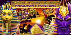 Pharaoh's Fortune Electronic pull tab game
