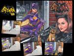 Batman 66 Sketch cover Julie Newmar  Yvonne Craig