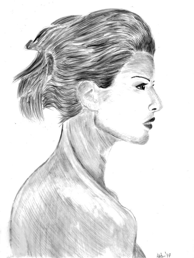 Kobieta by Mojaxe