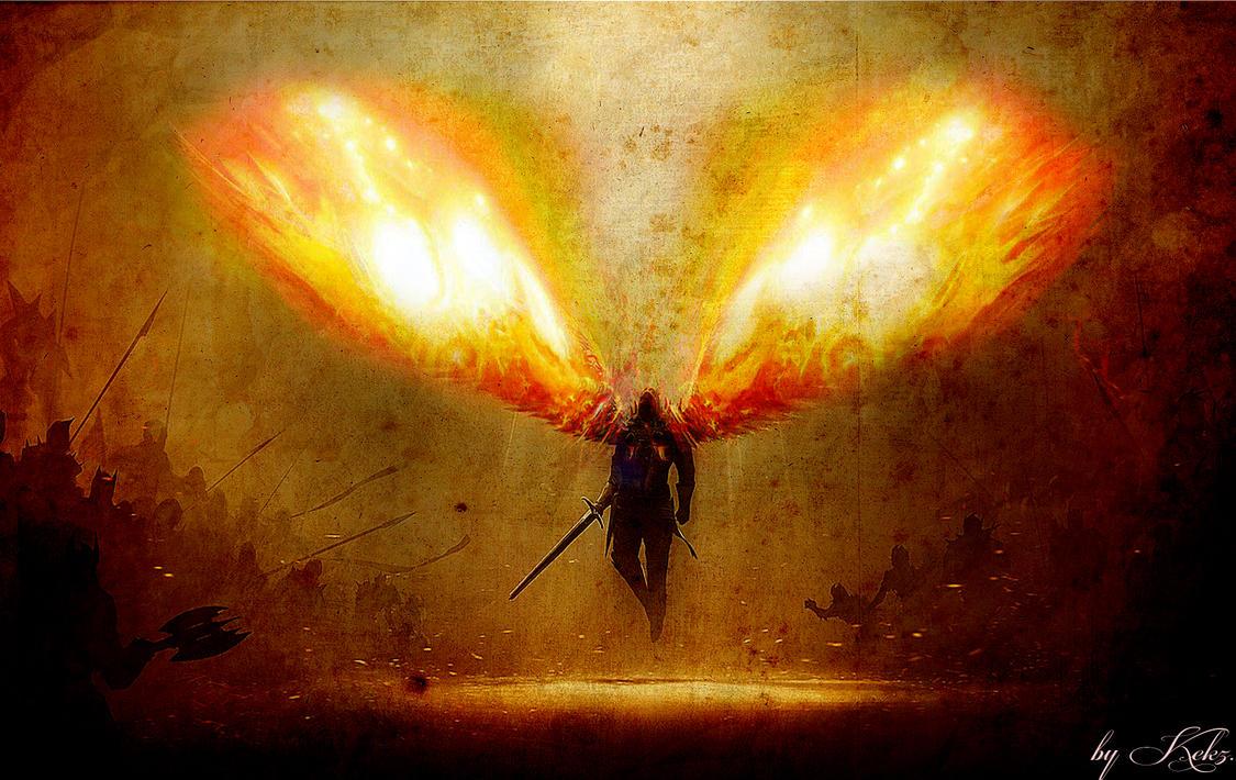 Angel War Wallpaper. b...