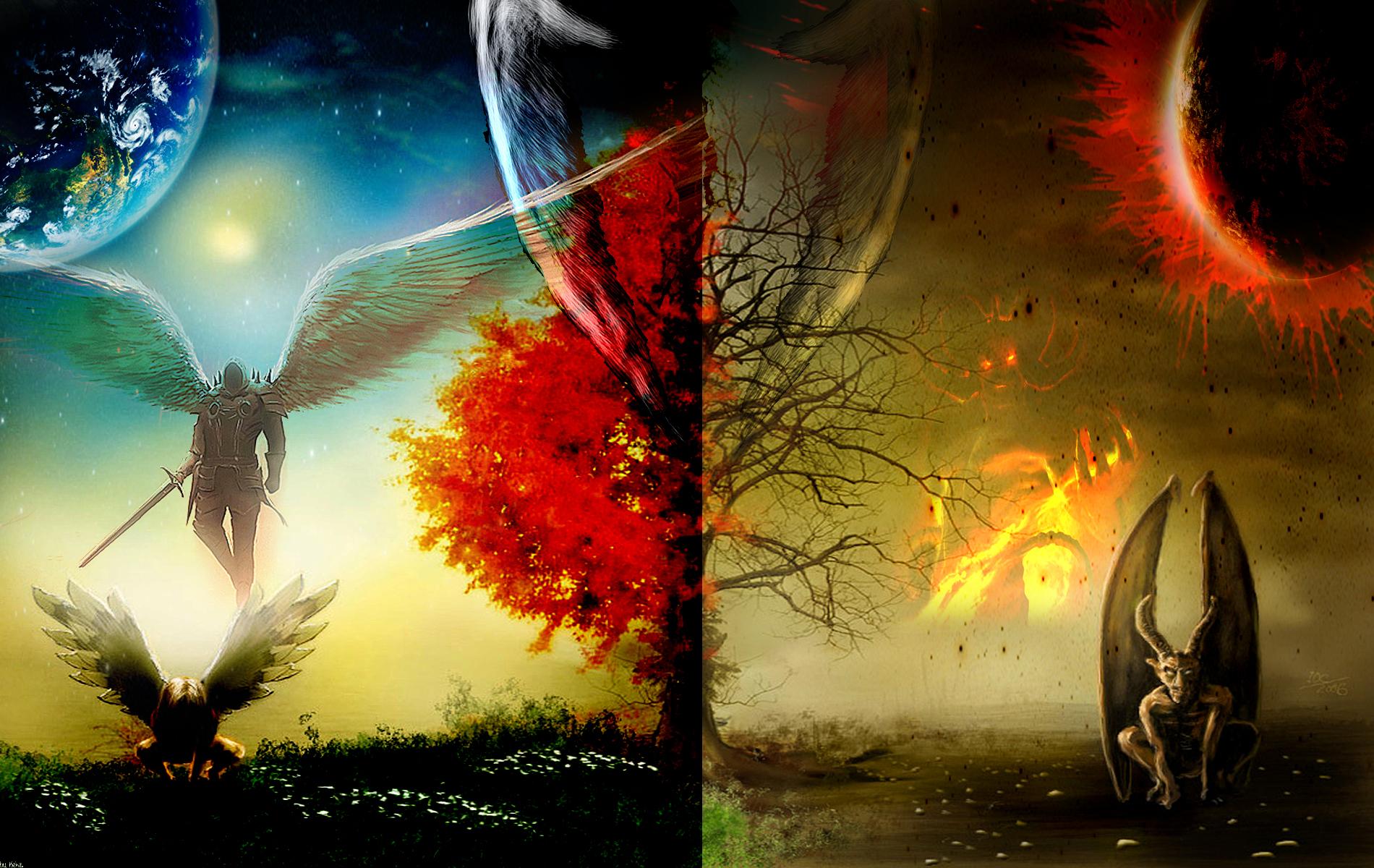 Angel Devil HD Wallpaper by KekzStyle on DeviantArt