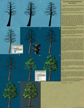 Quick and dirty tree tutorial