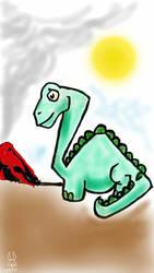 Sketch A Reptile by DeadRabbit1978