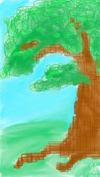 ABSTRACT TREE by DeadRabbit1978
