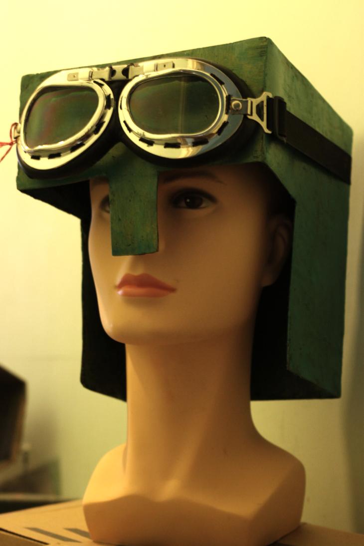 Minecraft Papercraft Helmet - Viewing Gallery