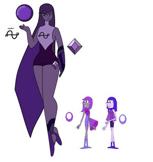 Purple Diamond(EDITED:GRAPE PEARL)