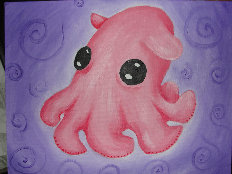 Cute dumbo octopus - photo#18