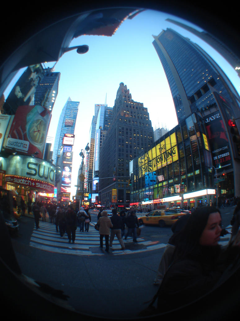New york city fish eye by thegigglepimp on deviantart for Fishing in new york city
