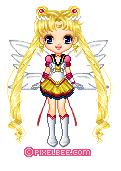 eternal sailor moon pixel doll by Aphrodite2794