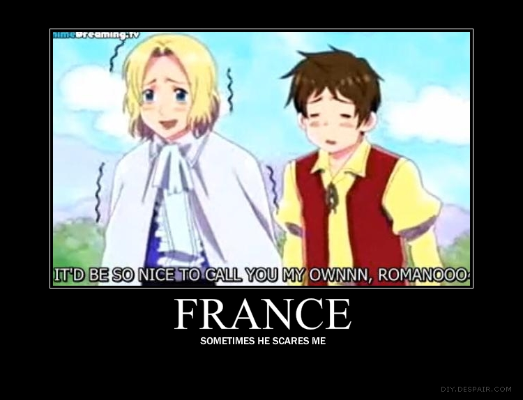 Hetalia france motivation by mad of course