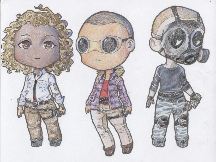 Plunkbat Squad Colored by CountessDeCreppe