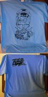 Awakening Silk Screen T Shirt