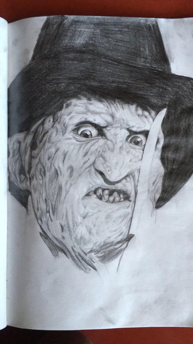 Freddy Krueger by EvilBeanz13