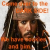 Jack Sparrow and Cookies by Celtic-Xena