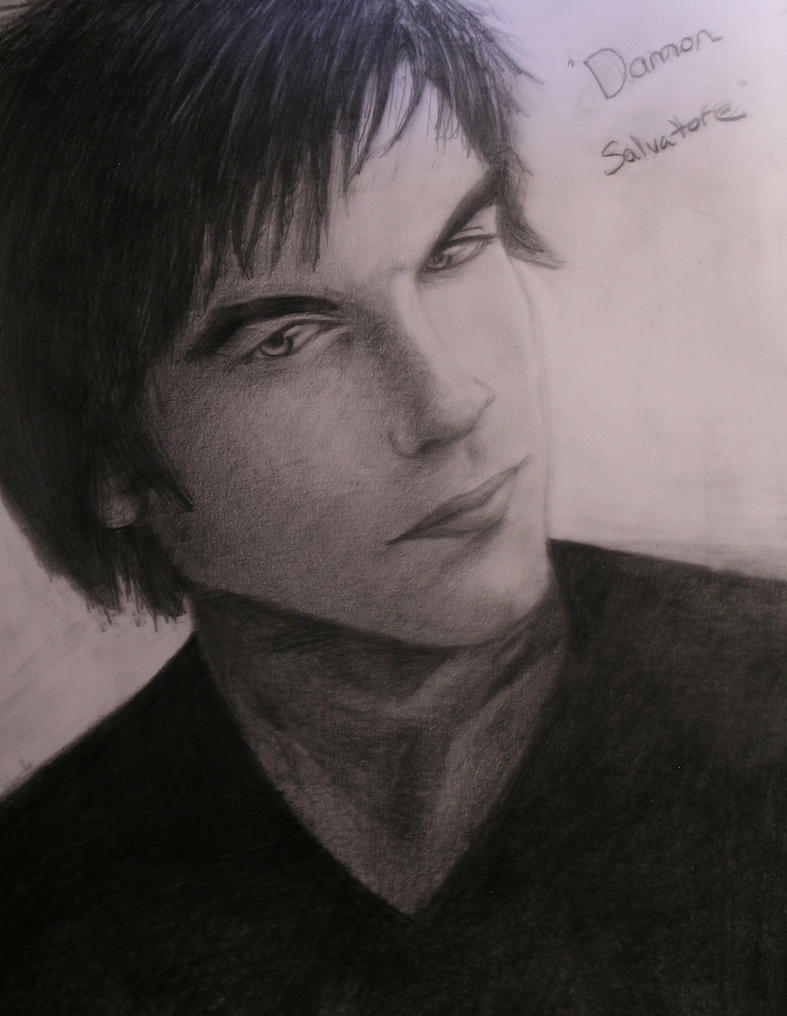 Damon Salvatore by lonewolf325