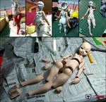 DOLLPAMM BJD body sculpting process 02
