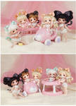Today! Release of the new line Bebe! (11cm doll)