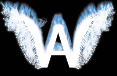 A W letter logo