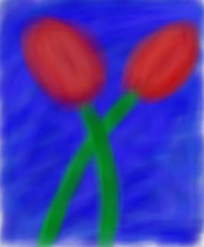 Red Tulips-  True/Everlasting Love