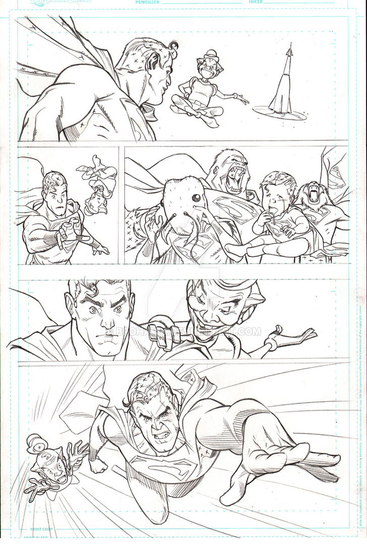 David Williams pencils 03 by BlipMartindale