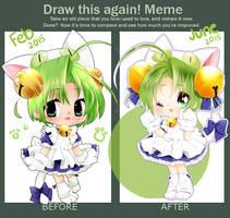 DRAW THIS AGAIN: Dejiko 2015 by cutesu