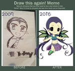 DRAW THIS AGAIN: Hay Lin from W.I.T.C.H
