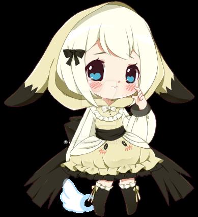 SMALL CHIB: xdeathxbyxlovex by cutesu