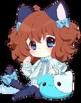 SMALL CHIB: IkaNe96 by cutesu