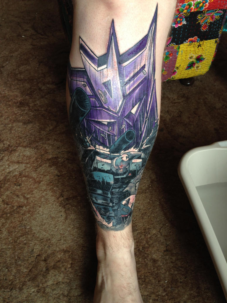 all hail megatron tattoo by makunix on deviantart. Black Bedroom Furniture Sets. Home Design Ideas