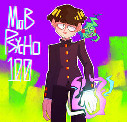 MOB PSYCHO 100 by PepperPixel