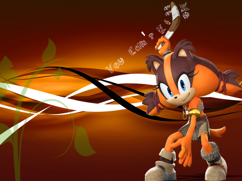 sonic boom sticks the badger by wilsonaaron06 on deviantart
