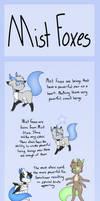 Mist Foxes Info - Part 1 (Semi-Open Species?)