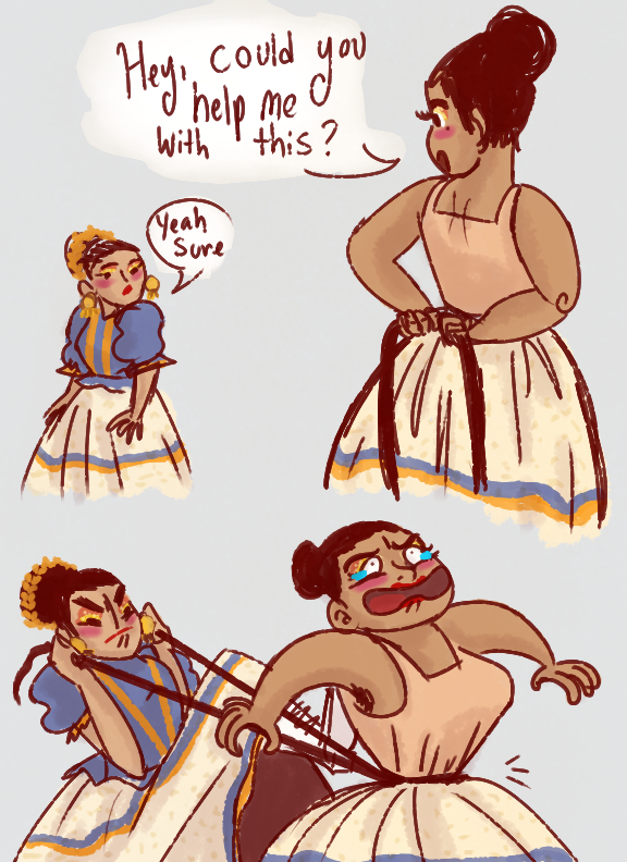Folklorico Funnies-1 by Princessadeli