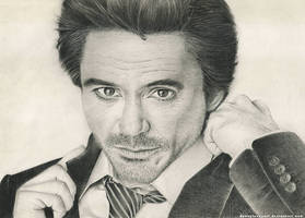 Robert Downey Jr. by DannyLovesArt