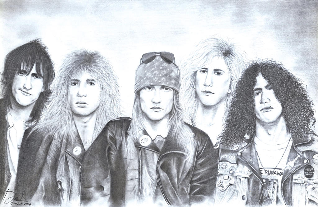 Guns N' Roses by DannyLovesArt