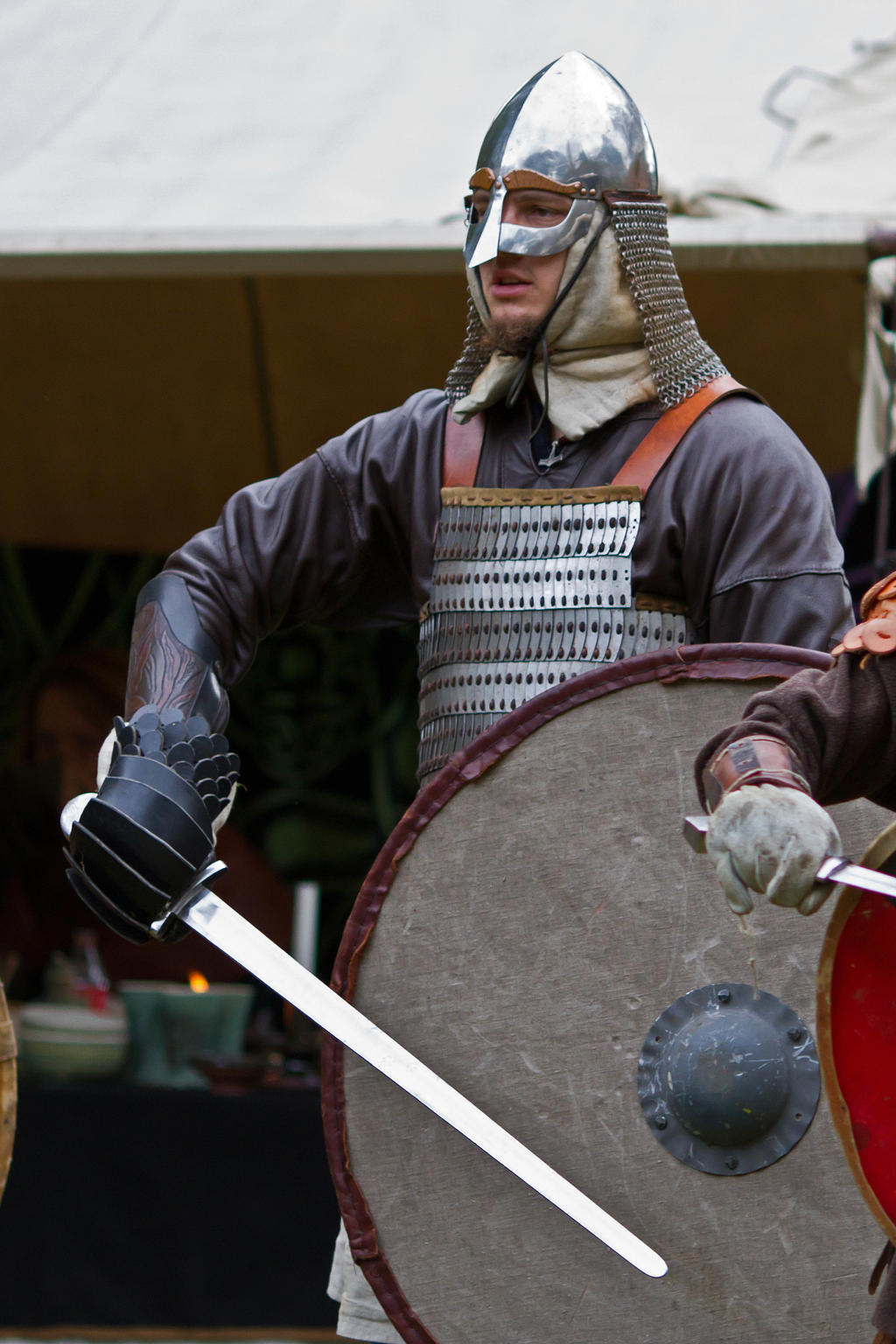 """Image result for vikings beating their shields"""""""